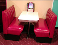 Beverly Hills Diner Booth