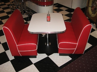 Your source for vitro seating products diner booths restaurant booths - Kitchen booths for sale ...