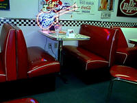 Soda Fountain Booth Set