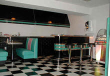 Deco Diner Booth