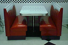 Big Bopper Diner Booth