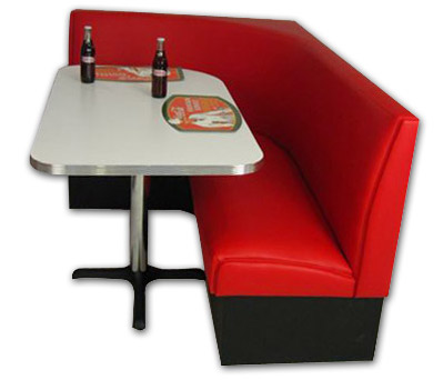Economy L Shaped Booth Set