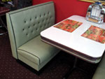 Vegas Style Diner Booth